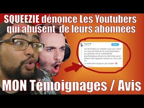 SQUEEZIE : Des youtubers abusent de leurs fans - Le chef témoigne