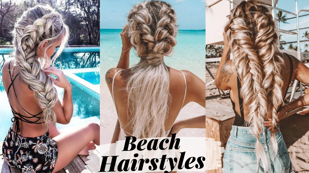 11 Hairstyles You Can Wear To The Beach & The Pool
