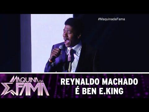 Máquina da Fama (23/05/16) Reynaldo Machado é Ben E.King