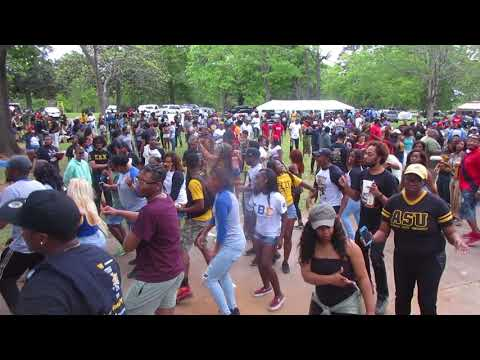 Swagging With Bama State At The (2018) Picnic Oak Park Montgomery AL