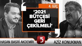 'En çok oy alan Cumhurbaşkanı olacak' - 4. Güç - H. Basri Akdemir - Aziz Konukman - Veysi Dündar