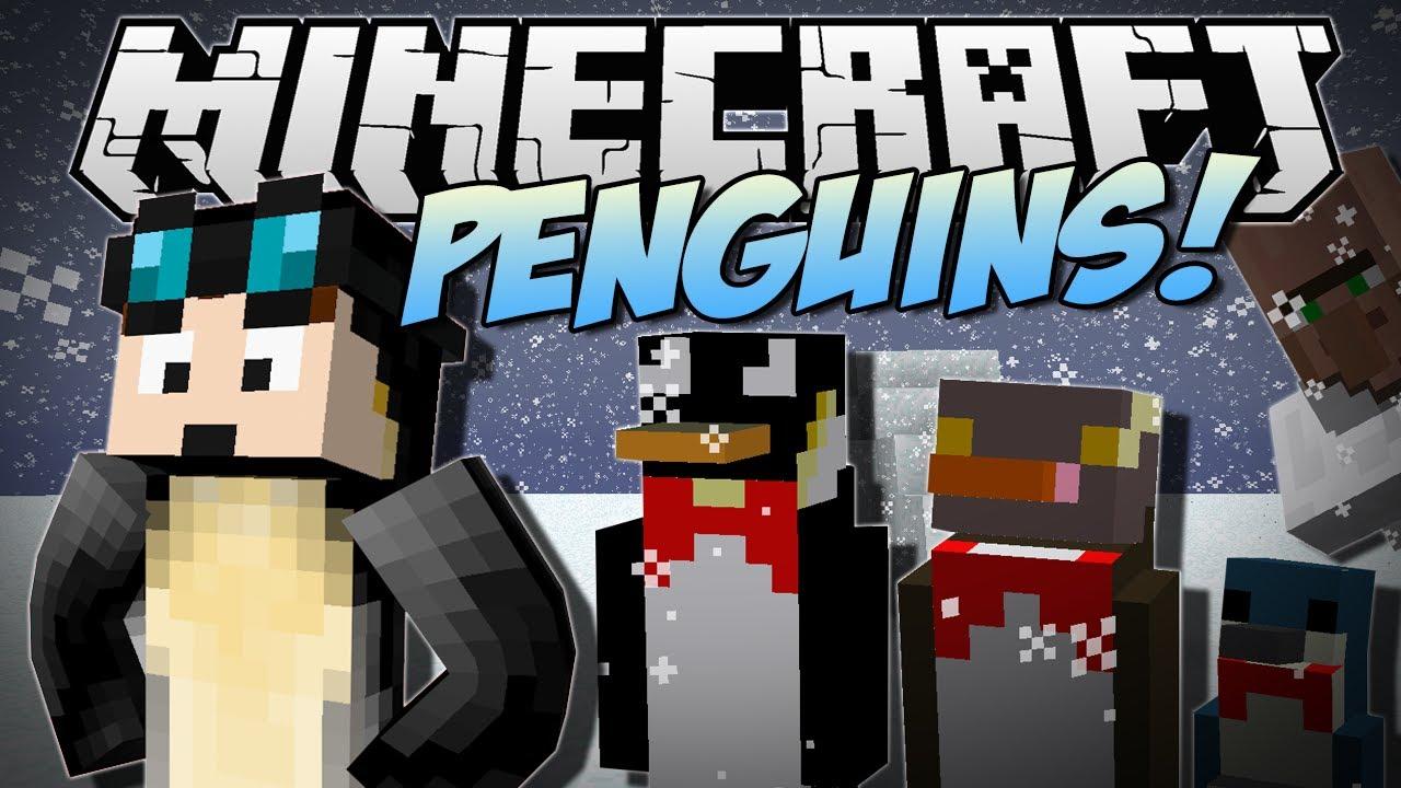 Minecraft Penguins Flame Penguins Flying Penguins