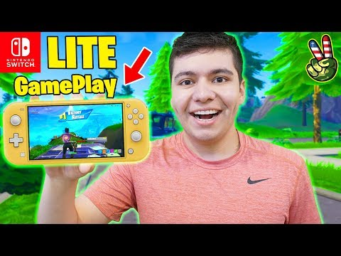 fortnite-on-the-nintendo-switch-lite!-(first-impressions)