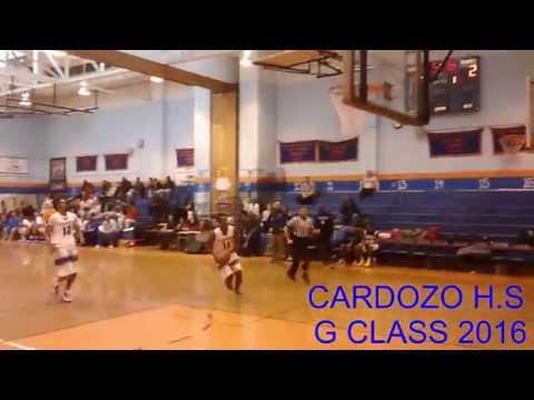 AARON WALKER CARDOZO G CLASS 2016 EXCLUSIVE HIGHLIGHTS