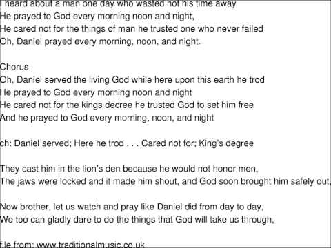 The Ideals  Daniel Prayed