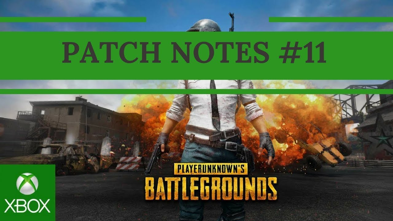 pubg xbox update 11 patch notes
