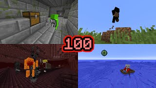 I Watched 100 Minecraft Speedruns, Here's What I Learned