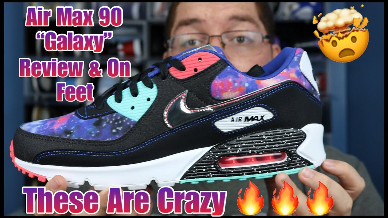 Early Review On Feet Air Max 90 Galaxy They Are Shock Dropping In Stores Youtube
