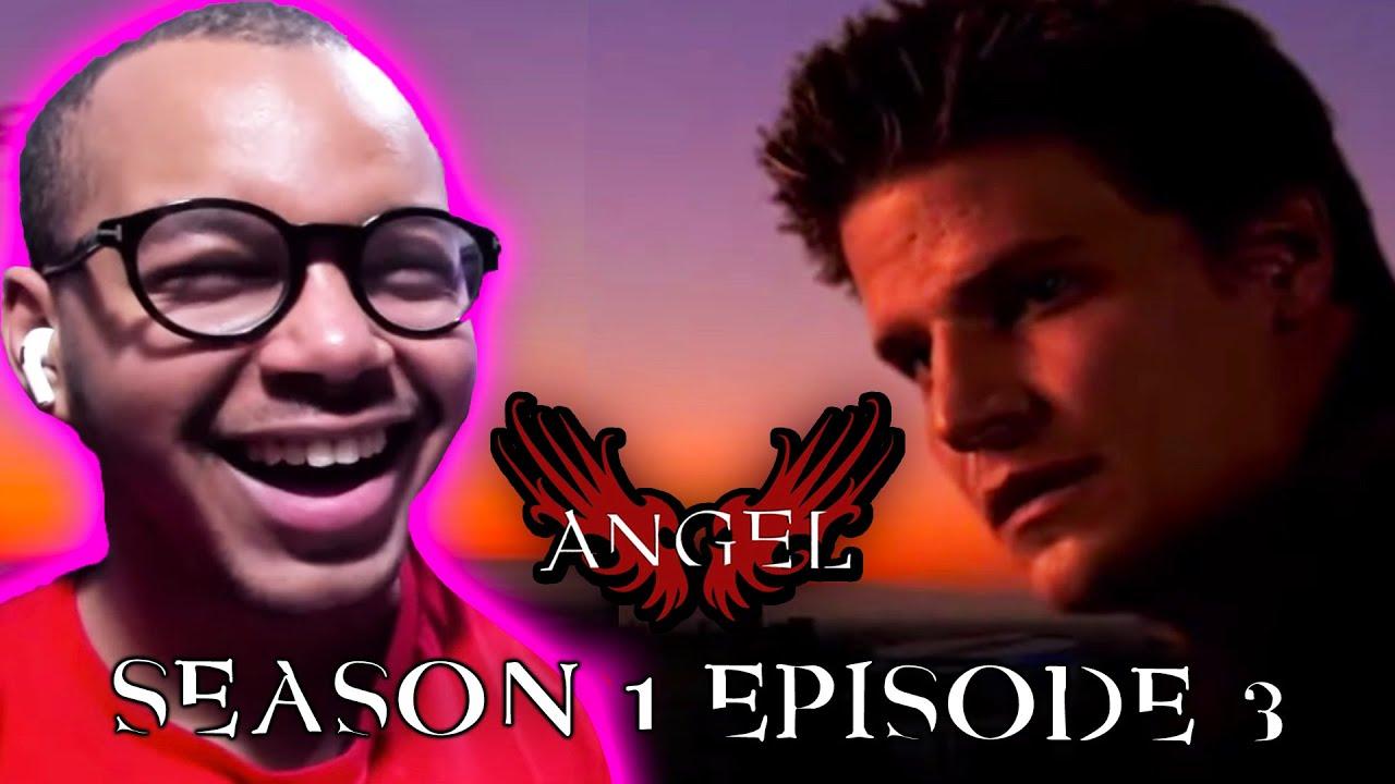 "Download Angel Season 1 Episode 3 ""In the Dark"" REACTION!"
