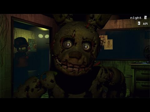 Five Nights at Freddy's 3 iPhone/iPod Touch/iPad Gameplay [HD]