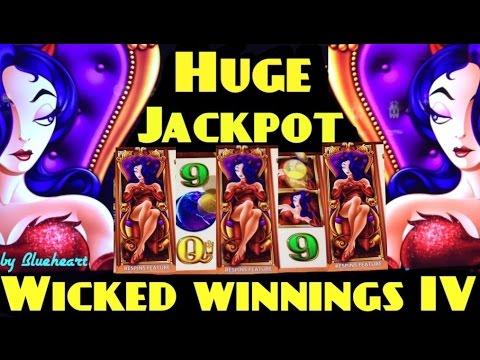 Biggest On Youtube Wicked Winnings 4 Slot Machine Amazing