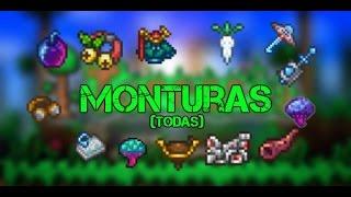 Monturas (todas) - Terraria 1.3.3.3 - Guía en ESPAÑOL