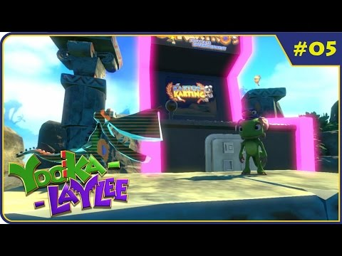 Yooka-Laylee (Blind) Part 5 - Arcade Antiques
