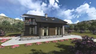 Проект дома из теплоблока ТБ 49 (170 м2)