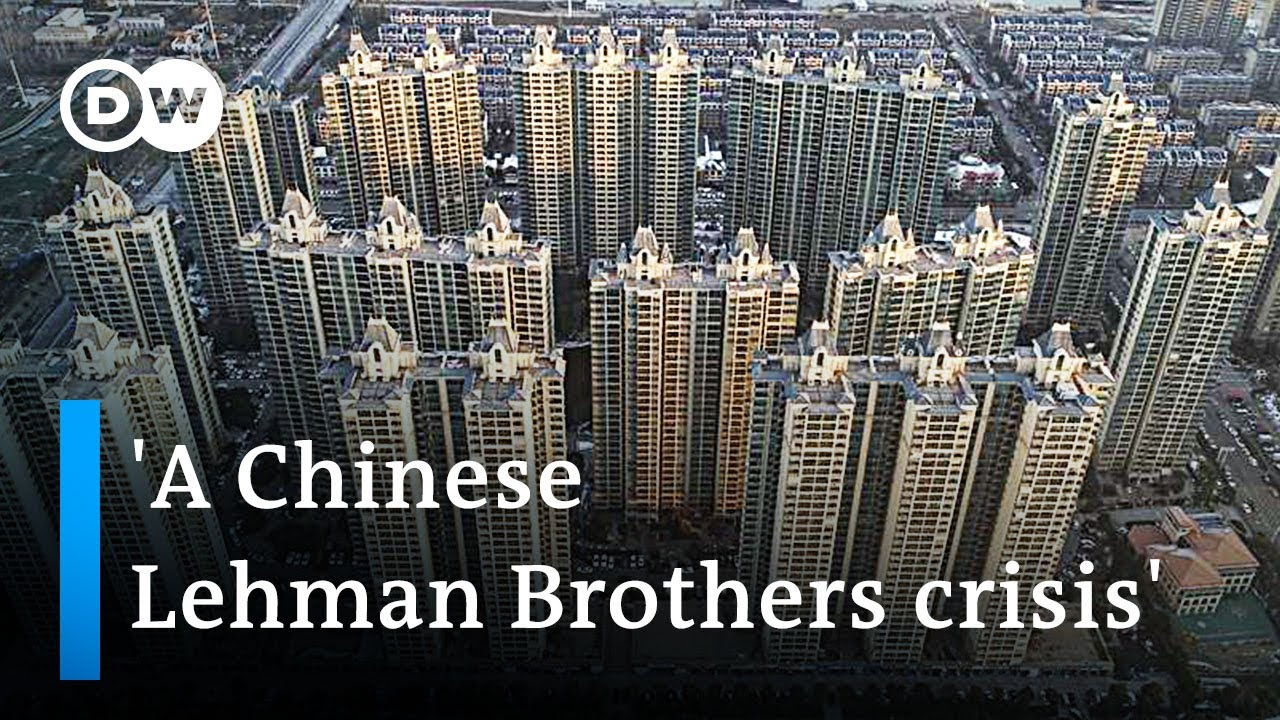 Whats behind the collapse of Chinese property development giant Evergrande  DW News