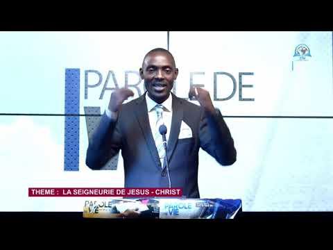 Download PAROLE DE VIE  - La seigneurie de Jesus - Christ - Frère Serge K.