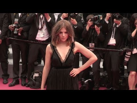 Morgane Polanski on the red carpet for the Premiere of Plaire, Aimer et Courir Vite in Cannes