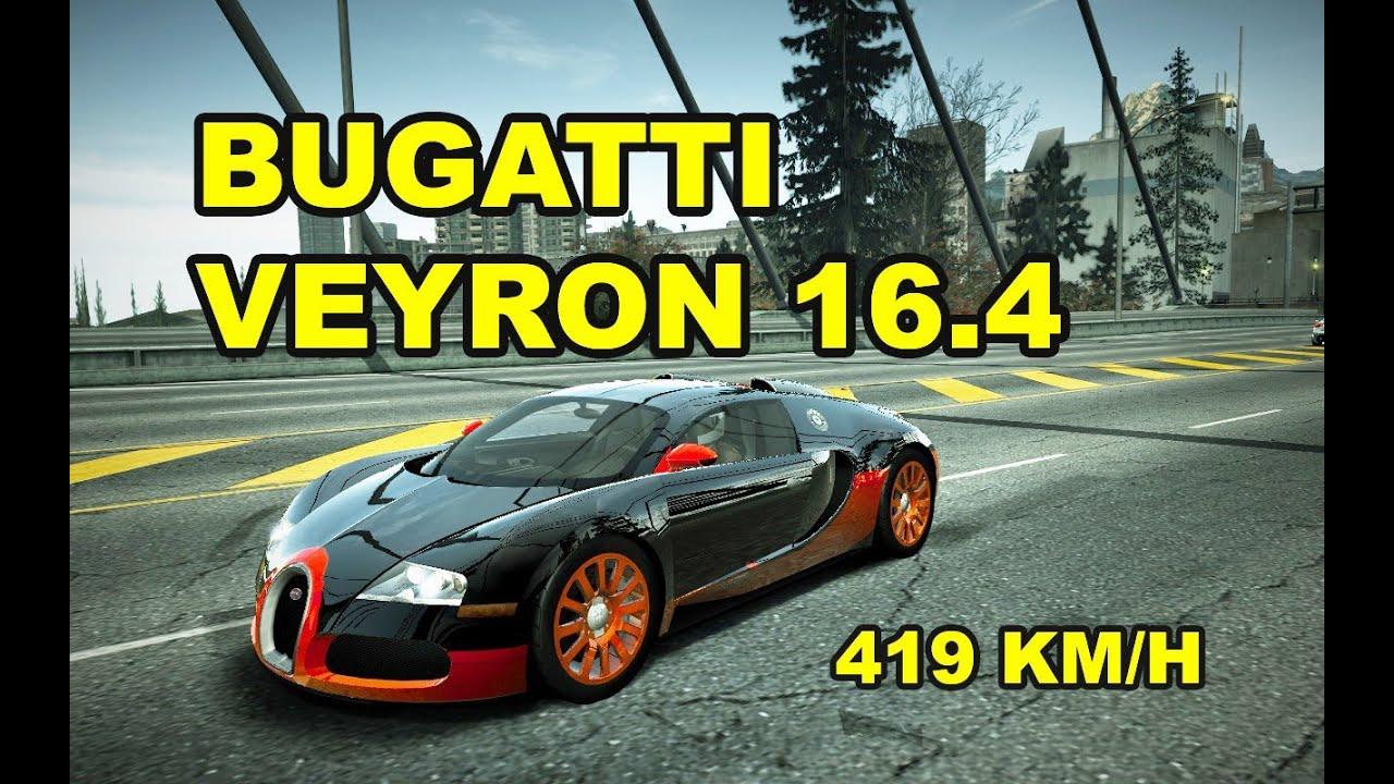 nfs world bugatti veyron 16 4 full ultra 419 km h without hack sin hack. Black Bedroom Furniture Sets. Home Design Ideas