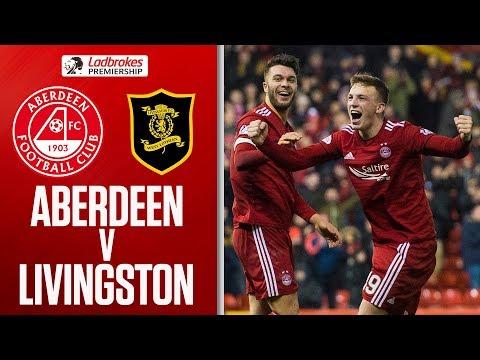 Aberdeen 3-2 Livingston | Ferguson Scores Brilliant Overhead Winner! | Ladbrokes Premiership