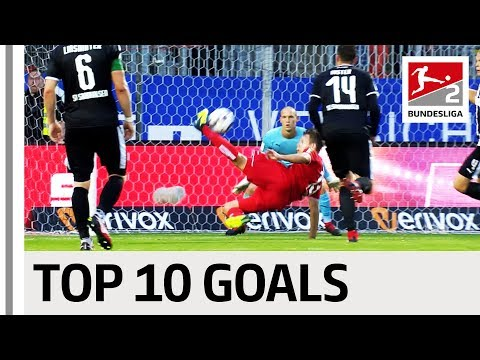 Top 10 Best Bundesliga 2 Goals So Far