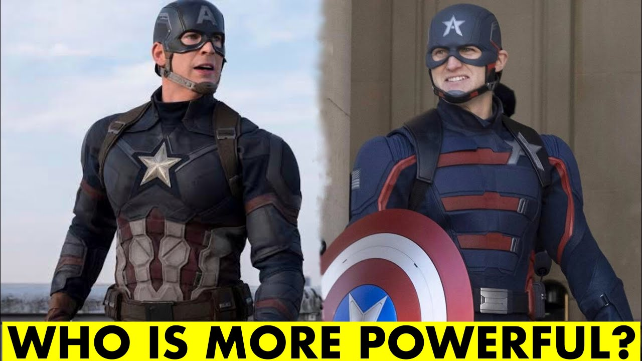 Steve Rogers vs John Walker | Who Is More Powerful | SuperHero Talks