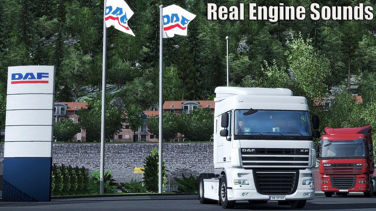 ✅ ETS2 - Real Engine Sound DAF XF 105 410, 460, 510 E5 EEV