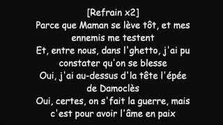 Repeat youtube video Black M Spectateur Lyrics