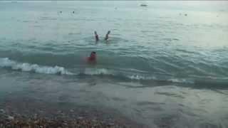 монстр в море