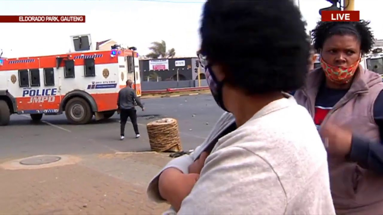 Download Eldorado Park | Chaos erupts as residents allege police fatally shot a teenager