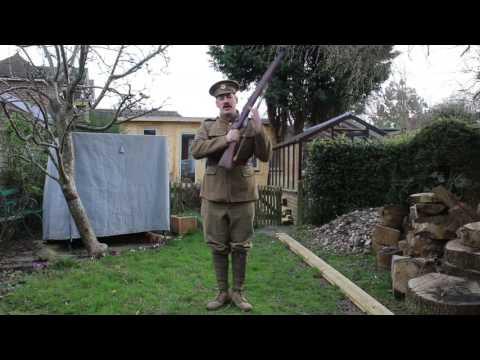 British WW1 Drill Instruction - Living History