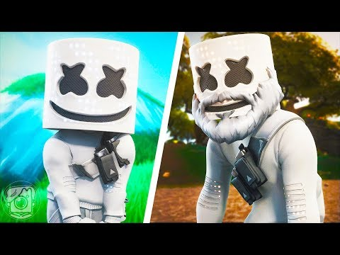THE LIFE AND DEATH OF MARSHMELLO... (A Fortnite Movie)