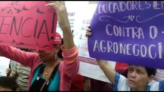 Com sentença de desocupação, acampados do Assentamento Zé Maria do Tomé pedem apoio aos vereadores d