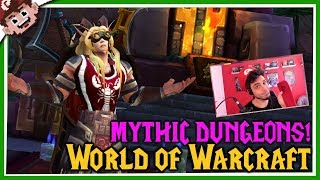WORLD of WARCRAFT?! | Mythics and WQ