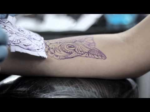 Mortero InK - Cat Tattoo