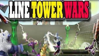 Warcraft 3 | Custom | Line Tower Wars thumbnail