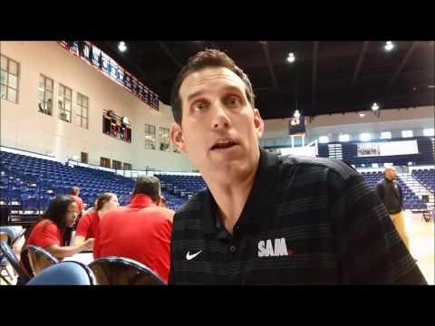 Samford Basketball Media Day - Scott Padgett