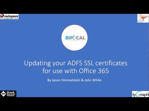 Updating your ADFS SSL Certificates for use with Office 365