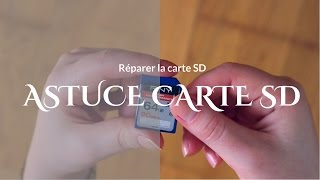 🛠 Réparer la carte SD, facile et rapide!🔐Repair SD card, easy and fast!