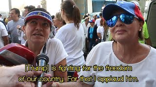 Venezuela's opposition pleads for US intervention - Max Blumenthal reports from Caracas march