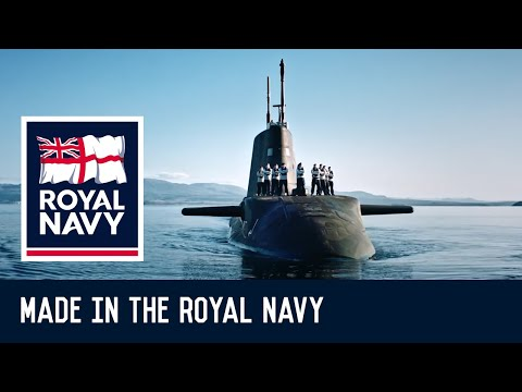 Made in the Royal Navy - Ali's story