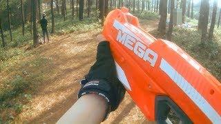Nerf gun war - Nerf war : First person shooter - Elsa frozen | Nerf battle