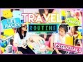 ♡ Travel Routine: Carry On Essentials, Life Hacks + Weird Facts! | AlohaKatieX ♡
