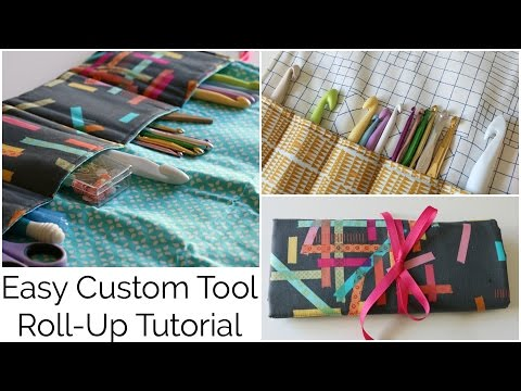 How to Sew a Custom Tool Roll Up with Amy Tangerine - Beginner Tutorial