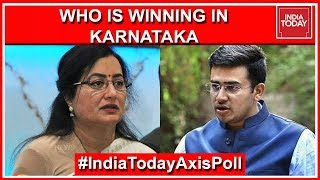 Sumalatha And Tejasvi Surya To Win From Mandya And South Bangalore | India Today Exit Poll 2019