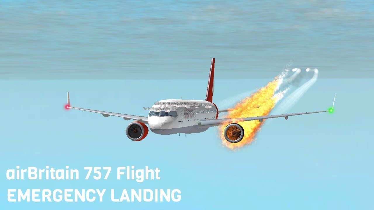 ROBLOX | airBritain Flight EMERGENCY LANDING - YouTube