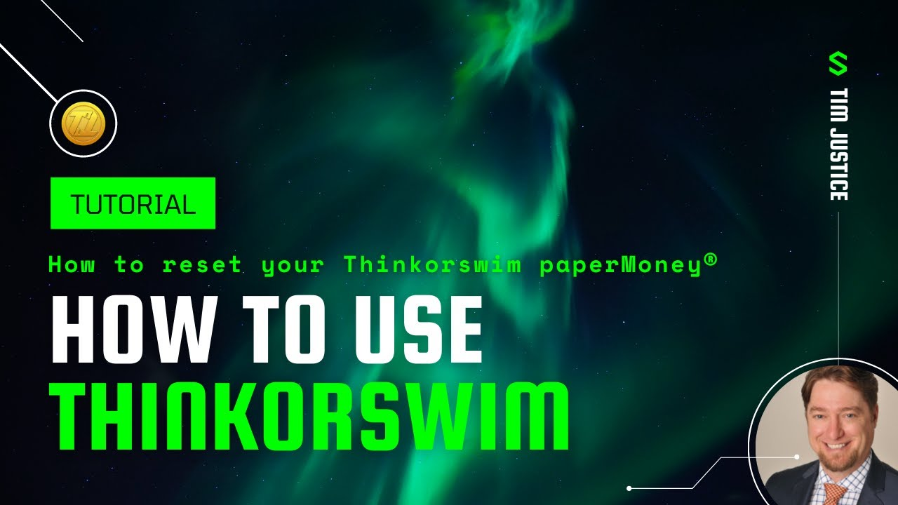 How to reset a Paper Money account in Thinkorswim