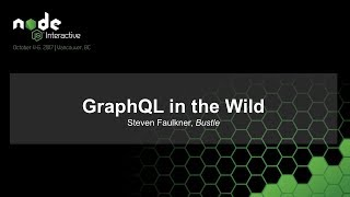 GraphQL in the Wild [I]