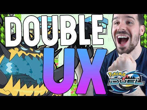 DOUBLE UX PULL?! 700 Gems Booster Box Openings NEW Ultra Beasts Banner | POKEMON DUEL