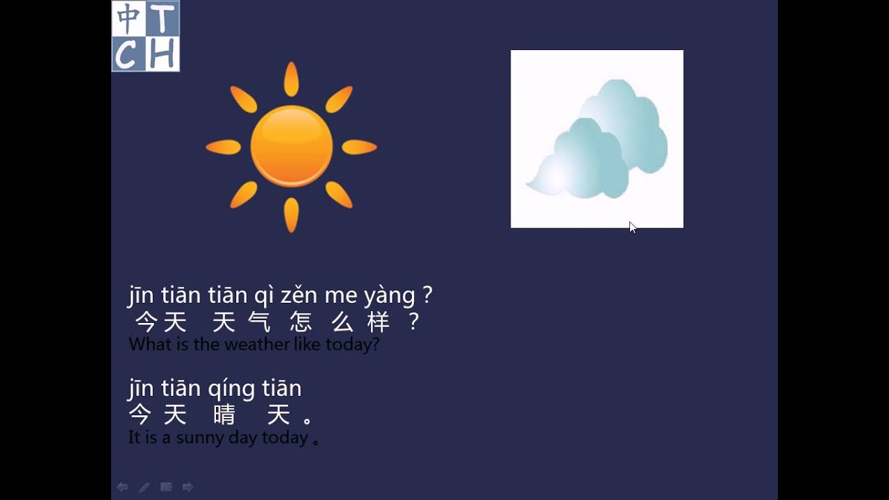 how to say hows the weather in chinese
