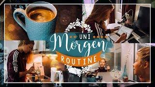 UNI MORGENROUTINE 2018 // JustSayEleanor ♡ (Student, Studium, Universität)